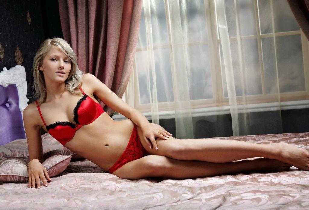 Hot Blonde Escort