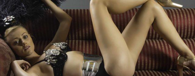 Polish Beauty Showing Sexy Legs
